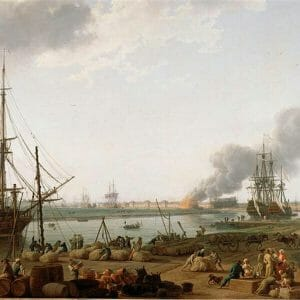 Inspring Interest in History with an old time harbor where they unloaded ships