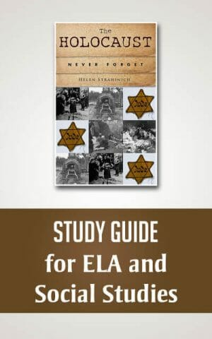 The Holocaust: Never Forget, STUDY GUIDE for ELA and Social Studies